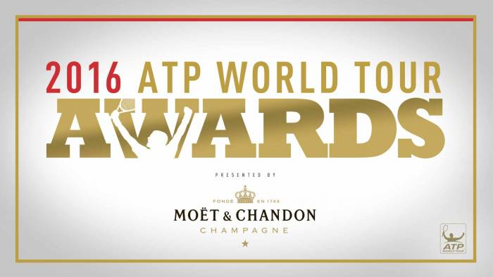 ATP World Tour Awards 2016: ecco i vincitori!