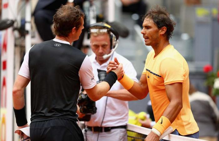Andy Murray rivela un incredibile aneddoto su Rafael Nadal