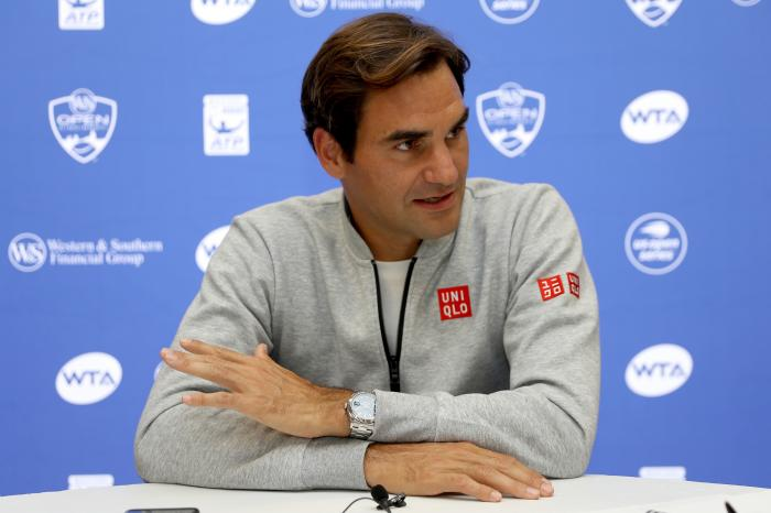 Federer non abdica e Fognini si inchina al re