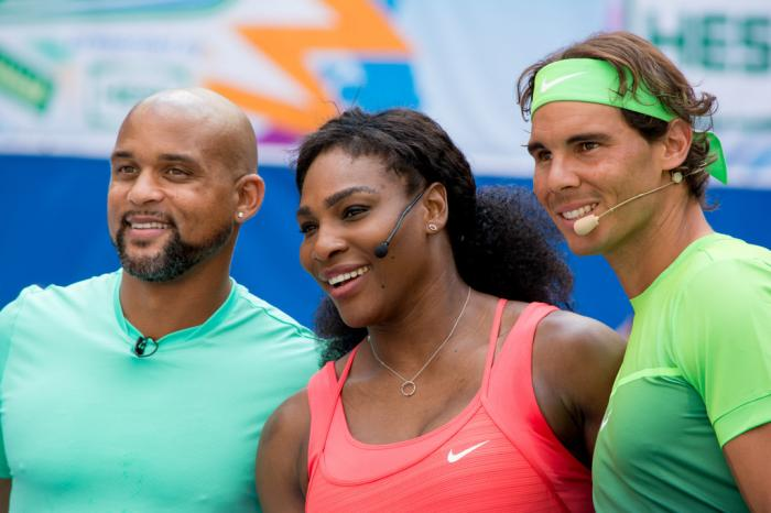 "Serena Williams: ""La gente ama guardare Federer, Nadal e i Bryan"""