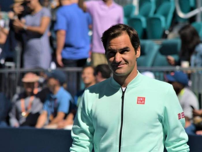 Roger Federer in finale a Miami