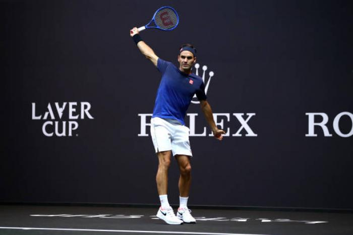 "Roger Federer: ""Nadal intensità incredibile. Fognini è calmo. Djokovic..."""