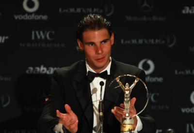 Nadal tra i nominati per il premio ´Laureus Sportsman of the year´