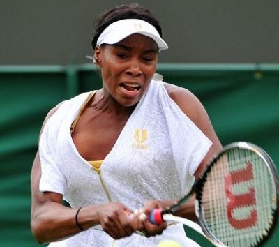 WIMBLEDON - Venus Williams c´e´!