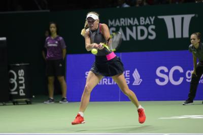 Wta Finals 2017/ Diretta Wozniacki Garcia, Halep Svitolina: streaming video SuperTennis, orario