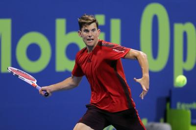 ATP DOHA - Thiem ferma Tsitsipas, in semifinale anche Rublev