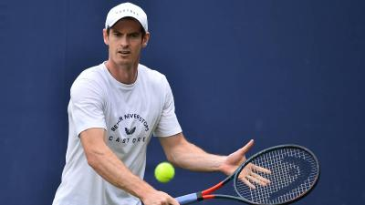 Andy Murray si allena sul cemento. Pronto per gli Us Open?