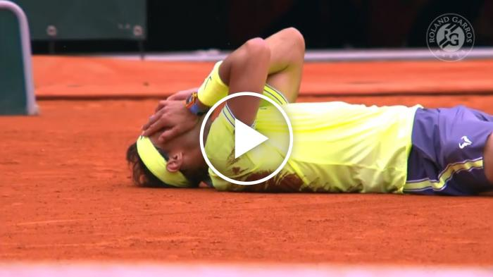 Nadal-Thiem, match point e premiazione