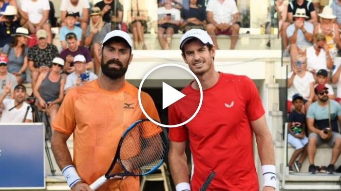 Gli highlights dell'eroico match vinto da Matteo Viola contro Andy Murray