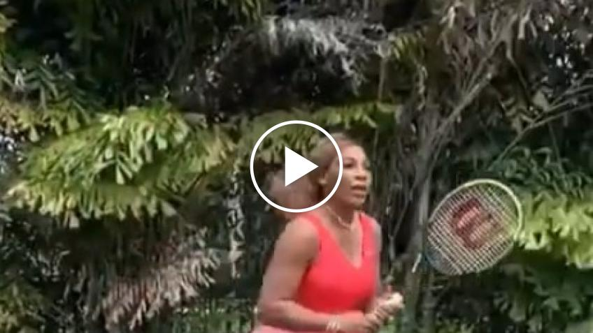 Serena Williams vs Serena Williams: il video realizzato dalla campionessa americana