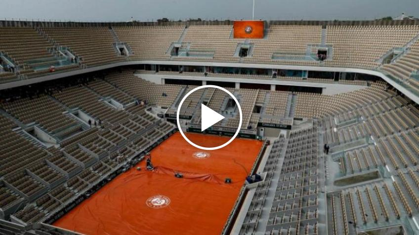 Roland Garros, polizia francese indaga su un possibile match truccato: il video