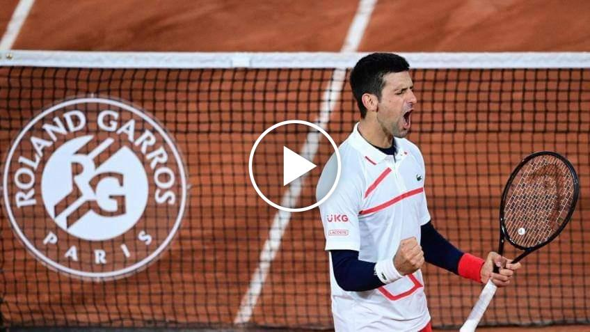 Roland Garros, Djokovic immortale: gli highlights del match contro Tsitsipas