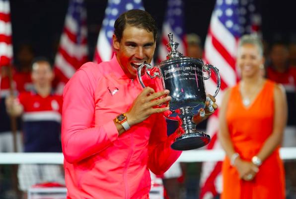 Le immagini piu' belle della finale degli US Open