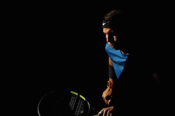 PARIGI BERCY - Nadal nel match contro Cuevas