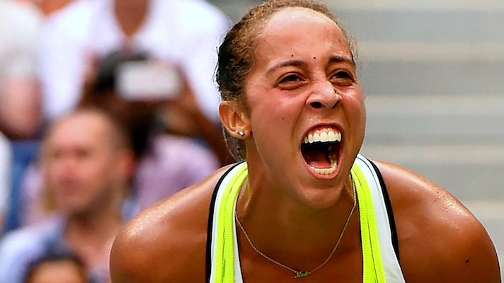 Madison Keys contro la Wozniacki