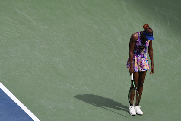 Venus WIlliams, altra scontenta da questo US Open