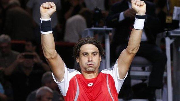 Ferrer batte Janowicz nella finale di Parigi Bercy 2012