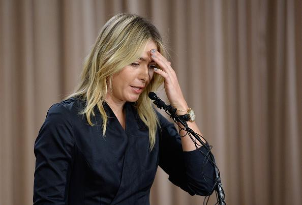 Tennis, Maria Sharapova shock: